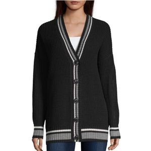 New Women's V Neck Long Sleeve Cardigan